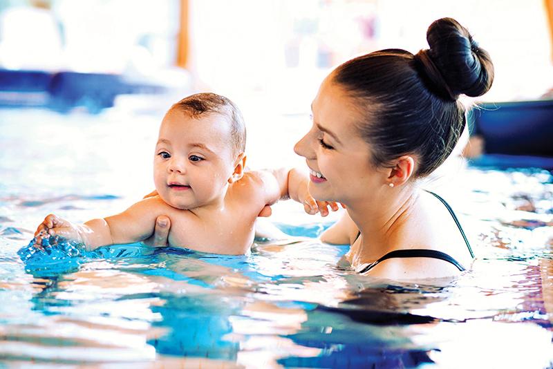 Thalassothérapie avec bébé