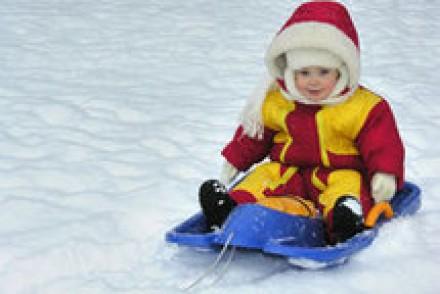 Partir aux sports d'hiver avec bébé