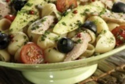 Pâtes Coquillages aux Herbes des Salades