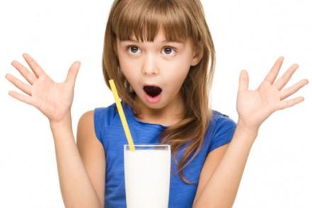 Maman je n'aime pas le lait
