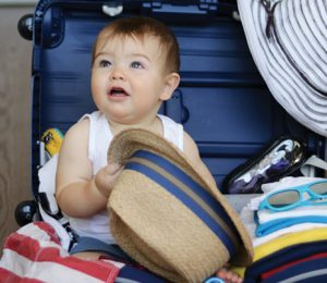 Voyager avec bébé