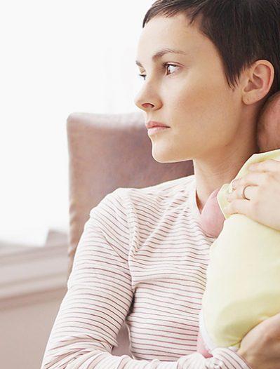 Après l'accouchement: résister au baby-blues