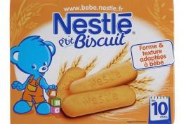 NESTLE P'tite Céréale Saveur Biscuité