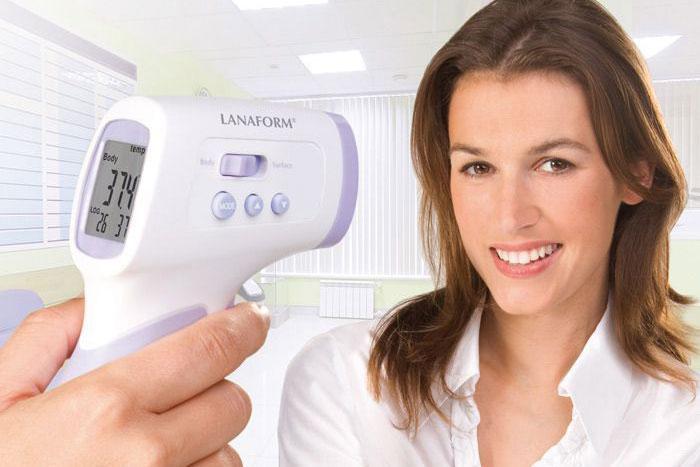 Thermomètres à infrarouges