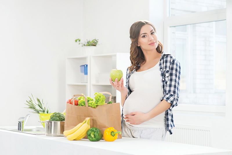 Comment garder la ligne  tout en étant enceinte ?