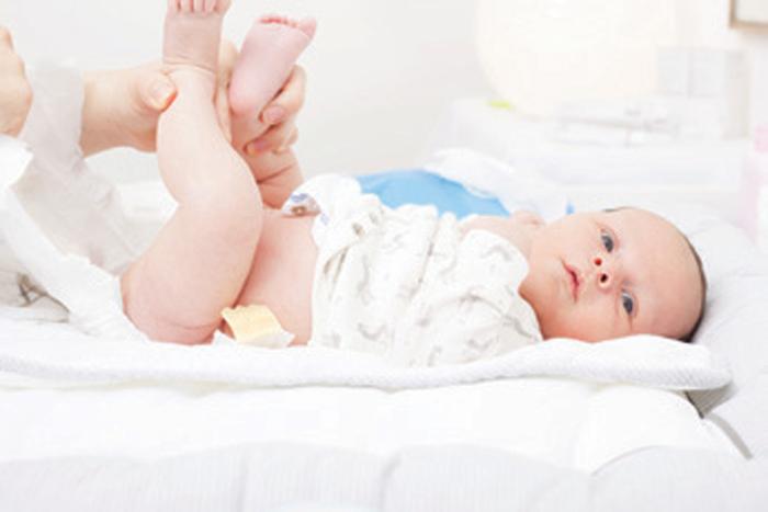 L'érythème fessier chez bébé